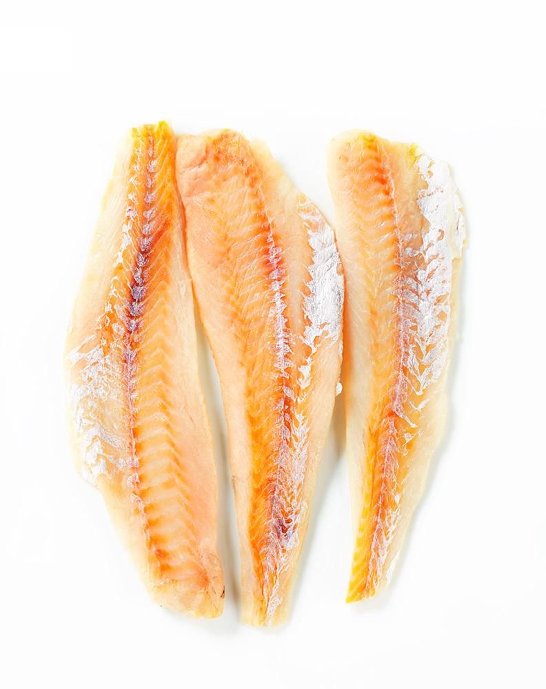 Минтай филе без кожи п/ф охл из зам сырья кг