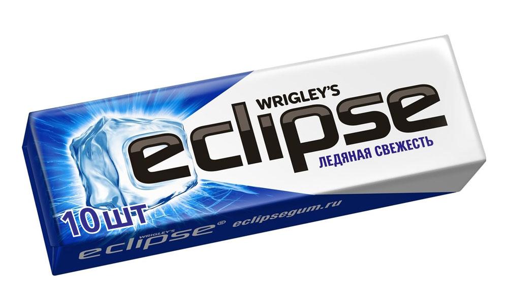 Жевательные резинки, освежающие конфеты  Окей Доставка Жев.резинка Eclipse Ледяная свежесть 13,6г