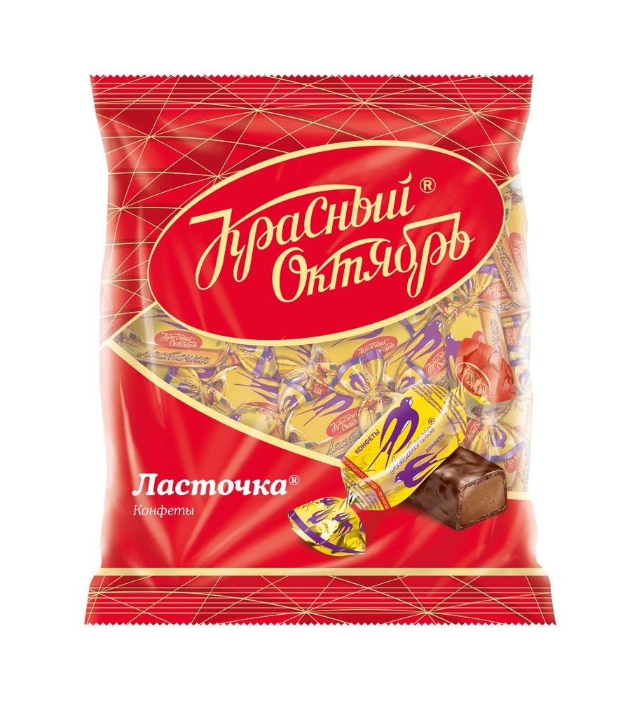 Конфеты Ласточка 250г Красный Октябрь