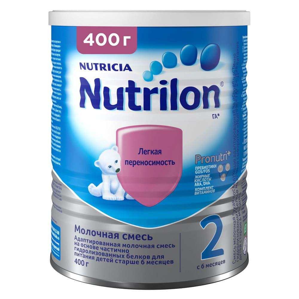 БЗМЖ Смесь молочная Nutrilon ГА 2 с 6 мес 400г