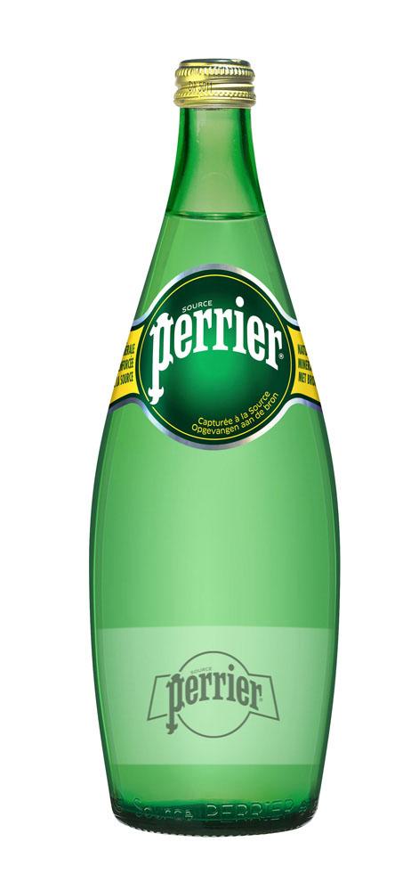 Вода минеральная Perrier натуральная сред/газ природ стол 0.75 л ст/б