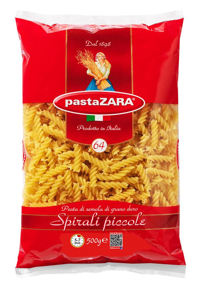 Макароны Pasta Zara Спираль средняя №064 500г