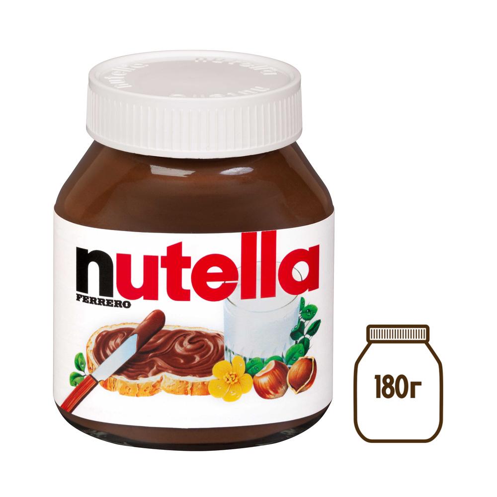 Паста ореховая Nutella с добавлением какао 180г