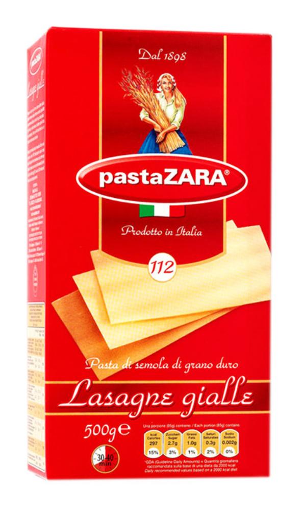 Макароны Pasta Zara Лазанья 500г
