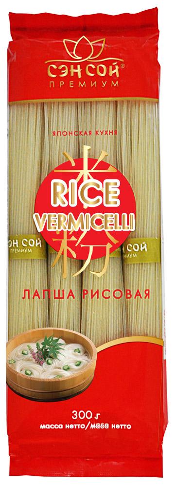 Лапша рисовая Sen Soy 300г