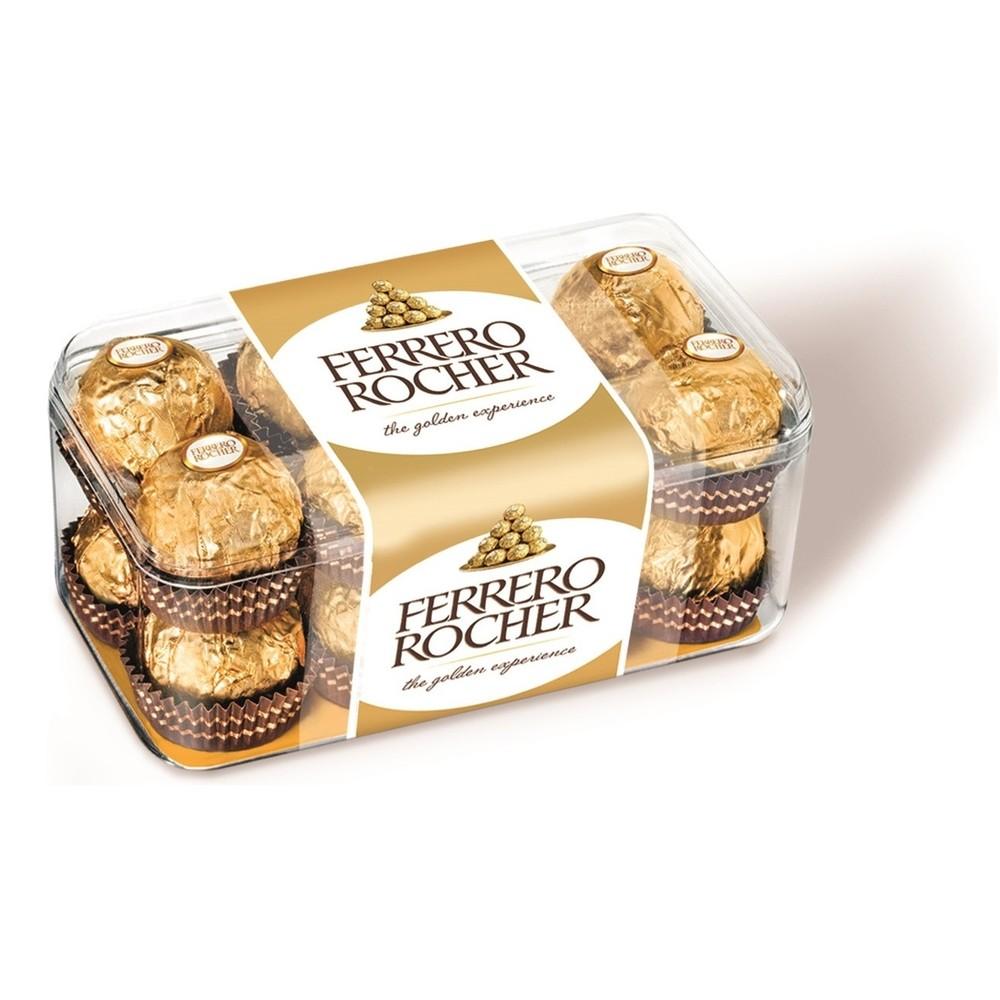 Окей Доставка Набор конфет Ferrero Rocher с орехом 200г
