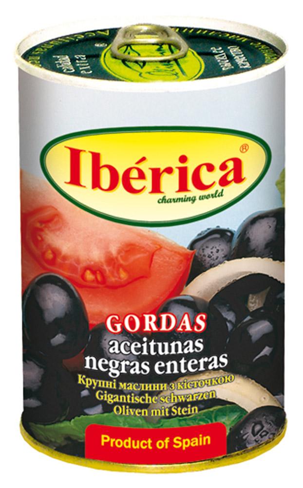 Маслины Iberica с/к 420г ж/б