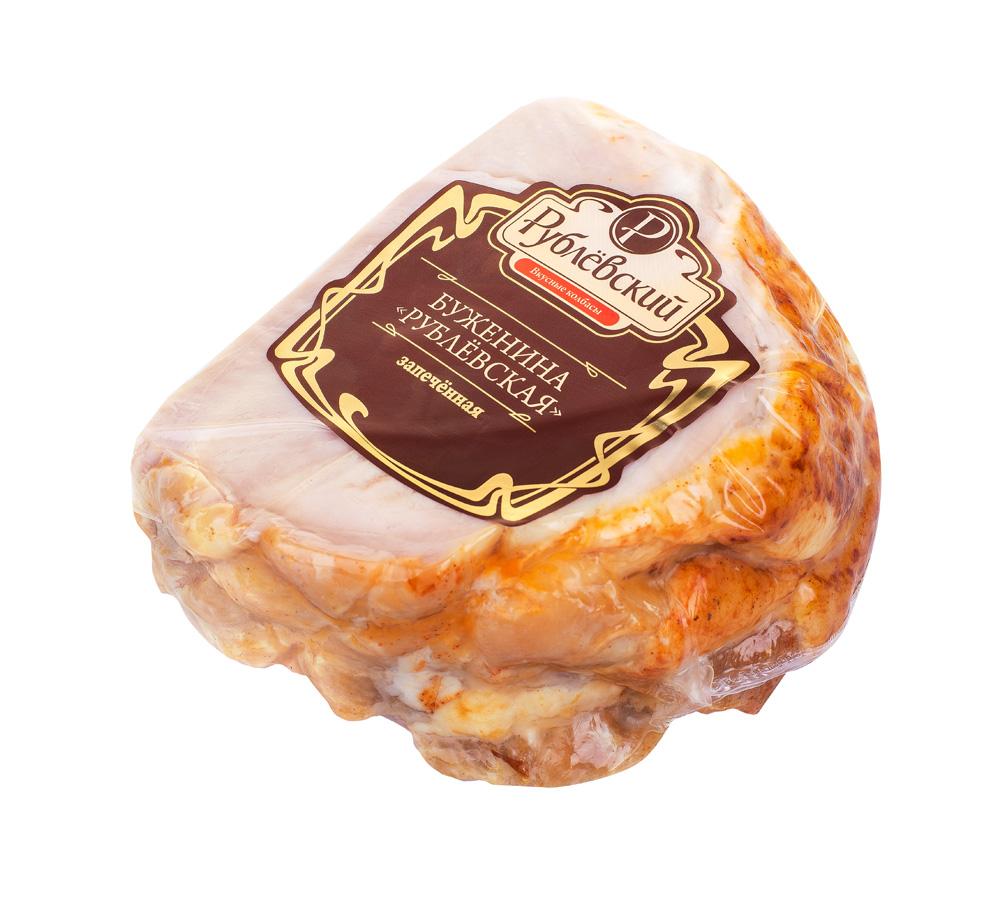 Мясные деликатесы Буженина Рублевская запеченая в/с Рублёвский порц  1 кг