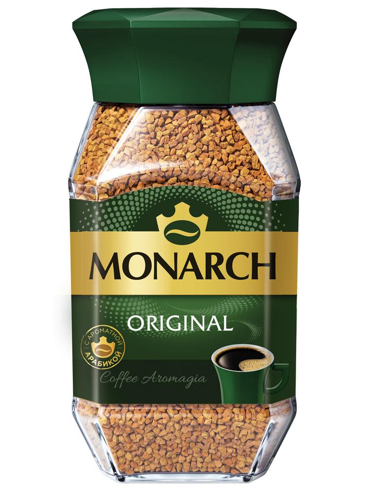 Кофе Jacobs Monarch натуральный растворимый