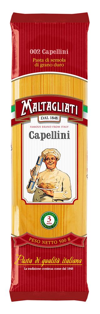 Макароны Maltagliati Спагетти тонкие 500г