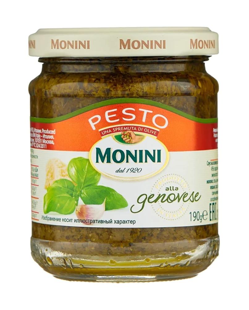 Соус песто Monini Genovese 190г