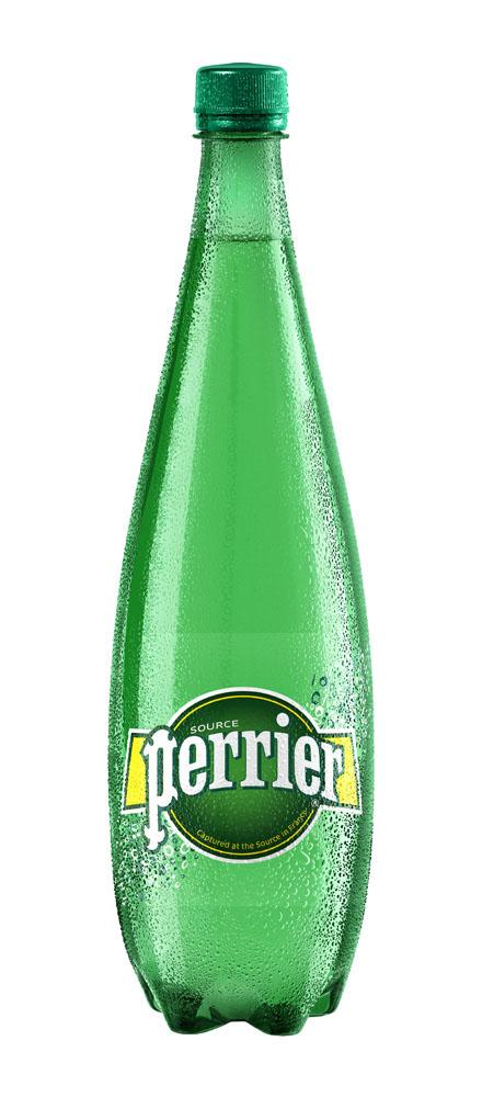 Вода минеральная Perrier природ сред/газ 1л ПЭТ