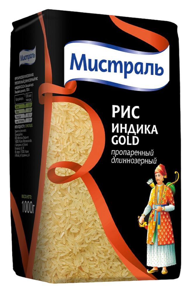 Окей Доставка Крупа рис Мистраль Индика Gold 1кг