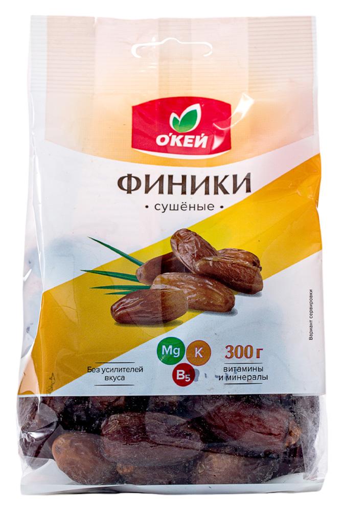 Орехи, сухофрукты Финики ОКЕЙ 300г