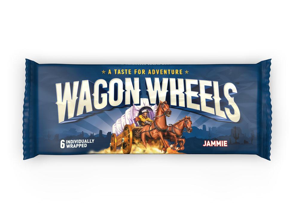 Окей Доставка Печенье Wagon Wheels с суфле и джемом 228г