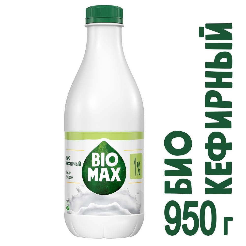 БЗМЖ Продукт кисл/мол кефирный Bio Max 1% 950г пэт