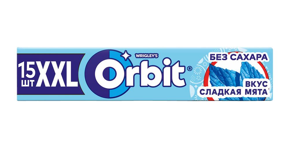 Жев.резинка Orbit XXL Сладкая мята 20,4г