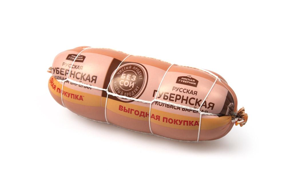 Колбасы вареные Колбаса вар Русская Губернская в сетке кг