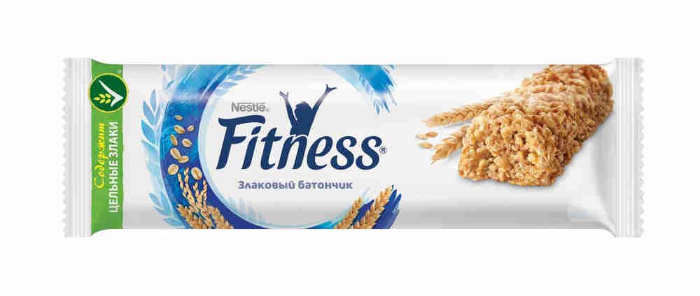 Батончик Nestle Fitness натуральный с цельными злаками 23,5г