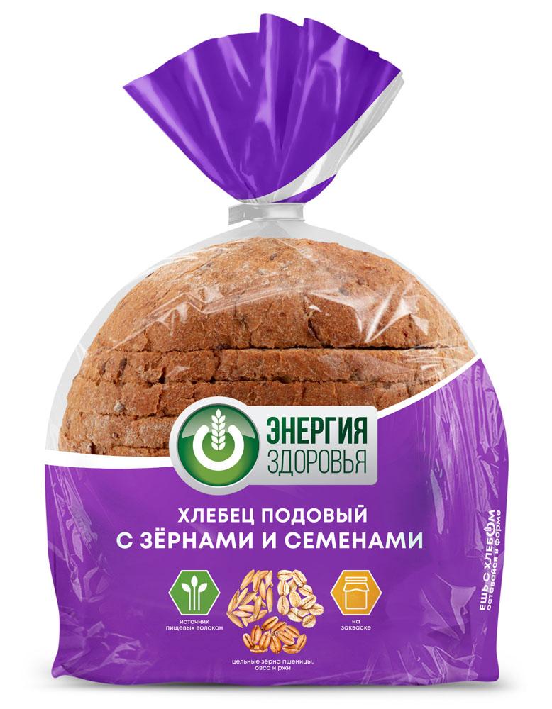 Хлеб Fazer подовый с зернами и семенами 300г