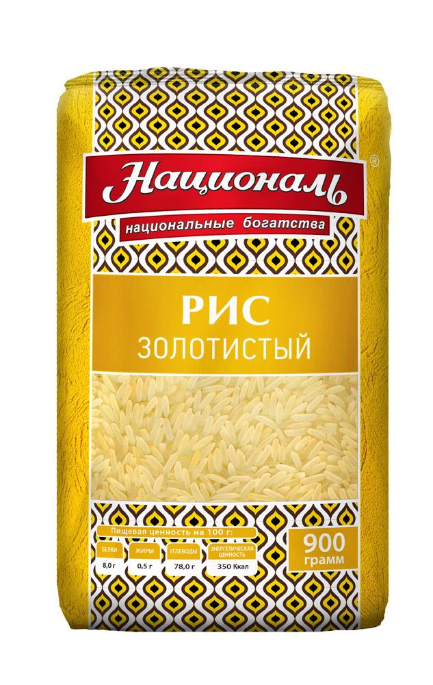 Окей Доставка Крупа рис Золотистый Националь 900г