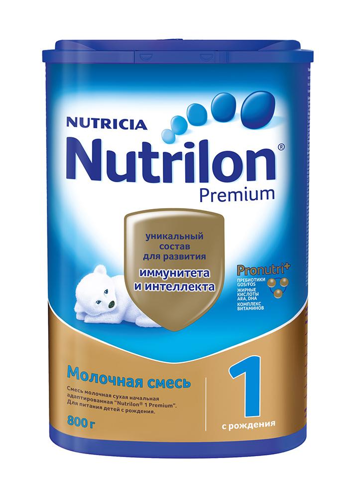 БЗМЖ Смесь молочная Nutrilon 1 Premium с рождения 800г
