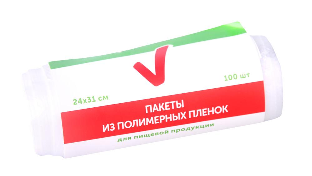 Пакеты ТЧН! д/пищевой продукции 24х31см 100шт - купить с доставкой в интернет-магазине О