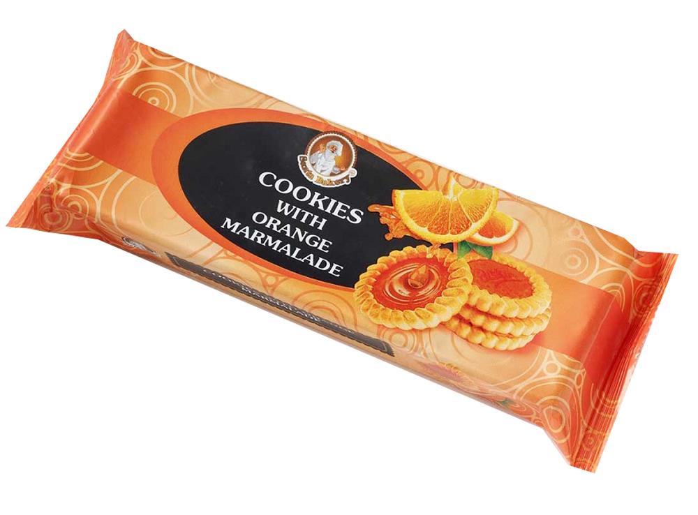 Окей Доставка Печенье Бискотти Cookies с апельсиновым мармеладом 100г