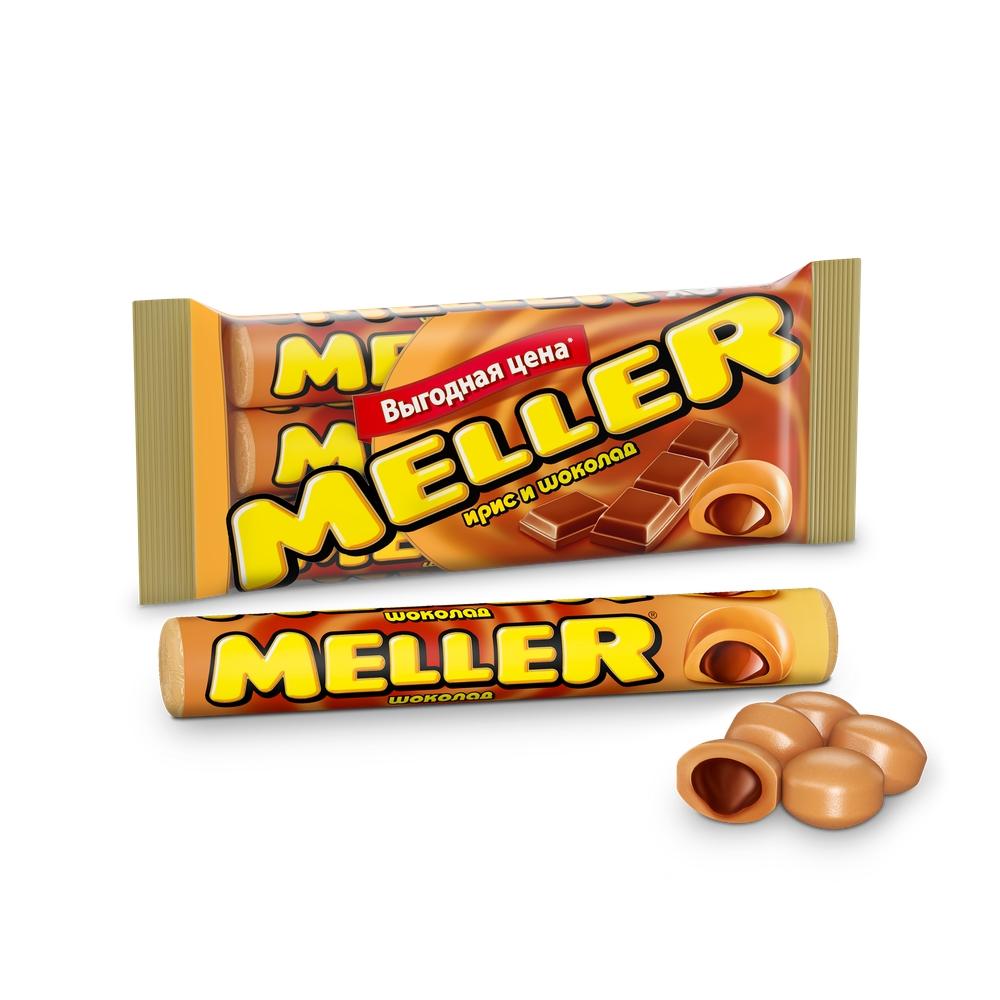 Ирис Meller Шоколад 3х38г