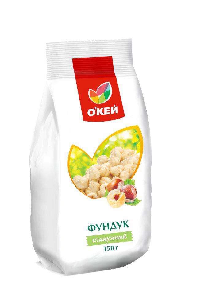 Орехи, сухофрукты Фундук ОКЕЙ 150г