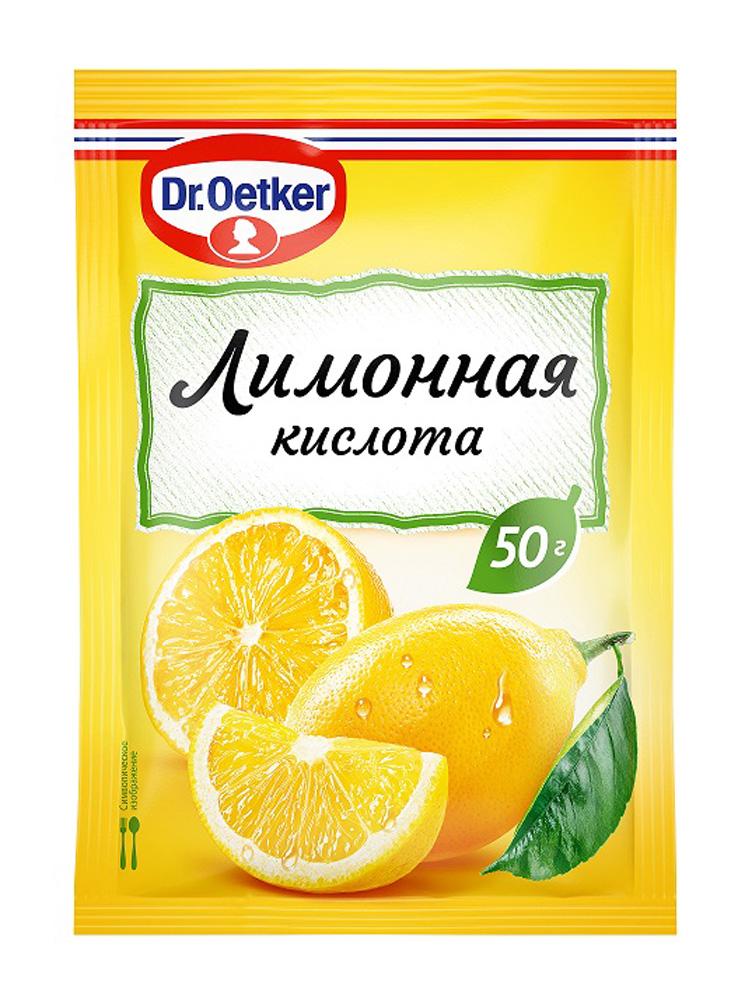 Окей Доставка Кислота лимонная Dr.Oetker пищевая 50г