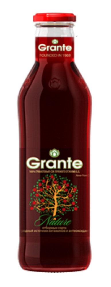 Сок Grante гранат неосветленный прямого отжима 0,75л ст/б