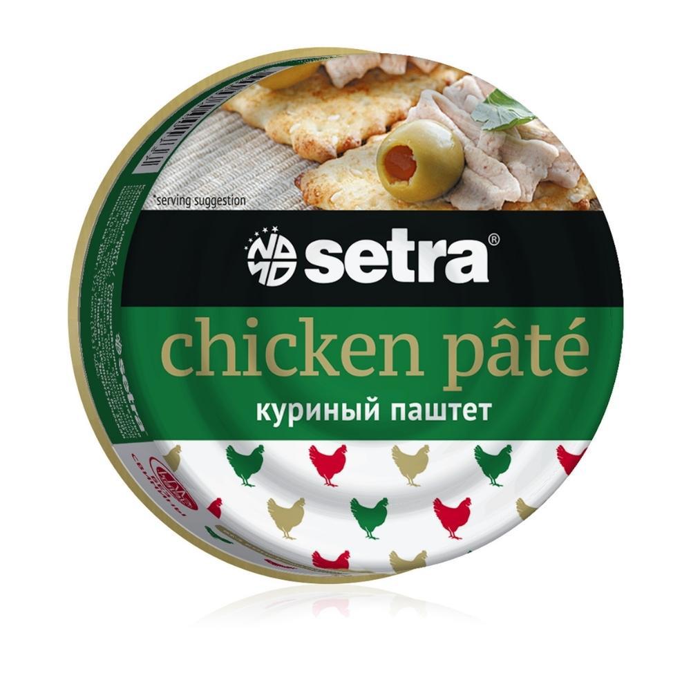 Паштет Setra куриный без консервантов Halal 100г