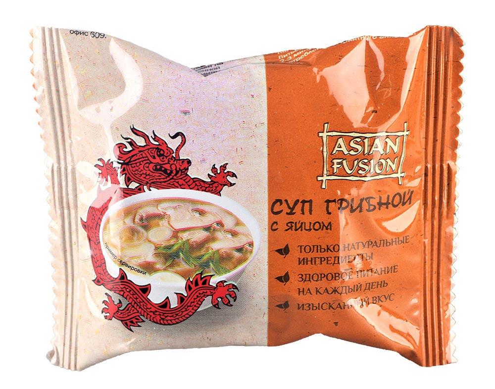 Суп Asian Fusion грибной с яйцом 12г