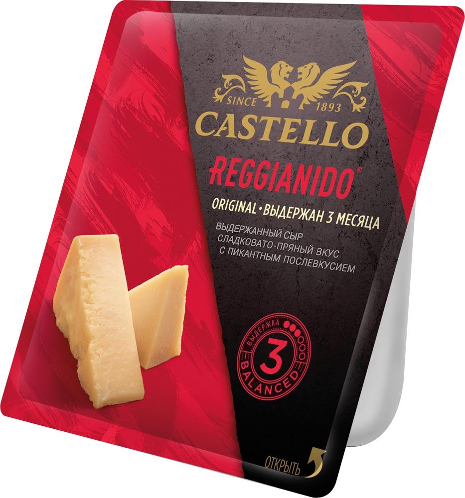 БЗМЖ Сыр Пармезан Reggianido 3 мес Castello 32% 150г Россия