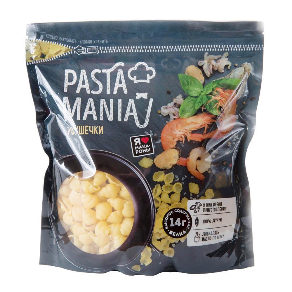 Макаронные изделия PastaMania Ракушки категория А 430г