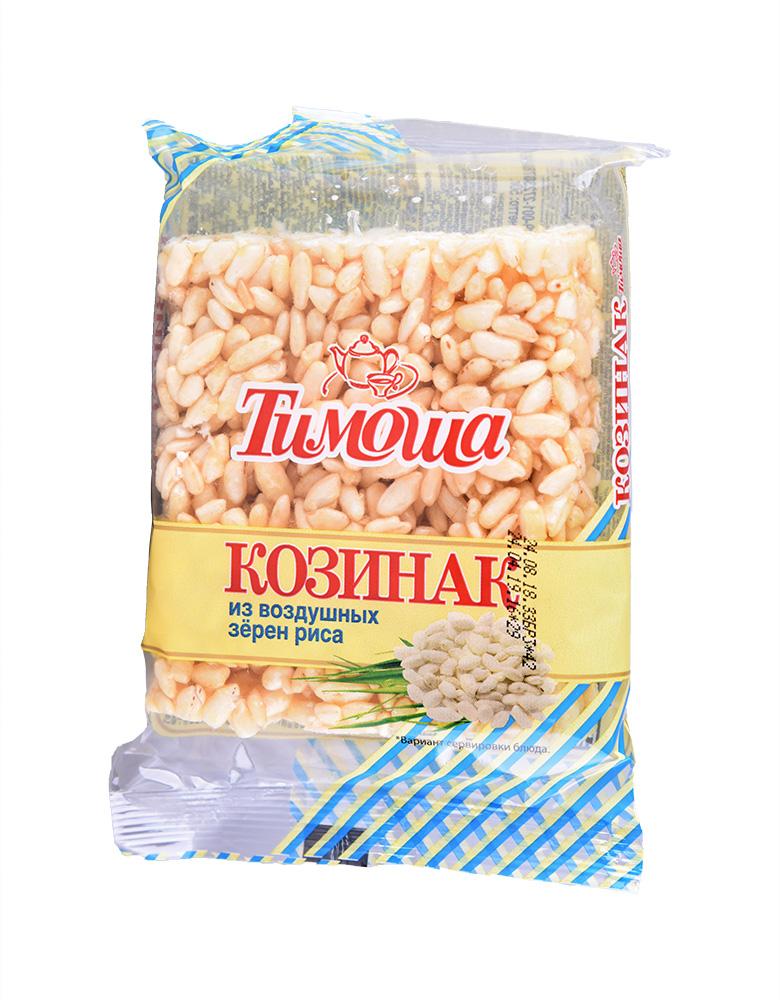 Восточные сладости  Окей Доставка Козинак из воздушных зерен риса Тимоша 50г