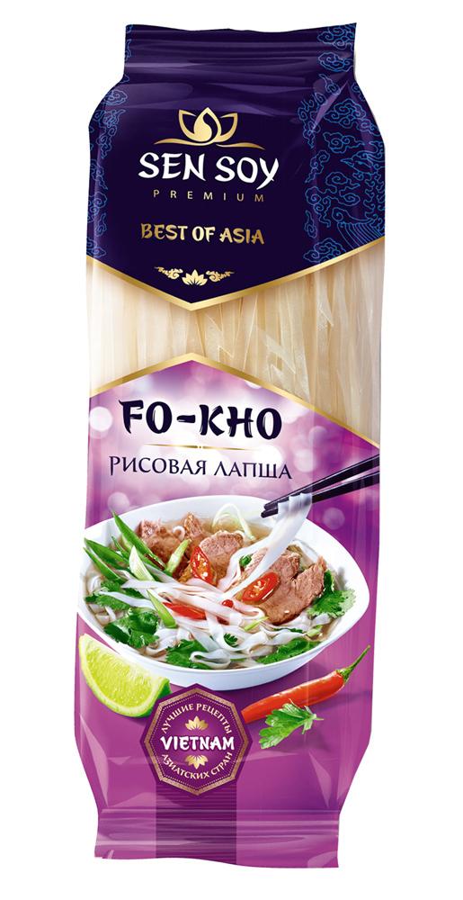 Рисовая лапша Sen Soy Fo-Kho 200г пак