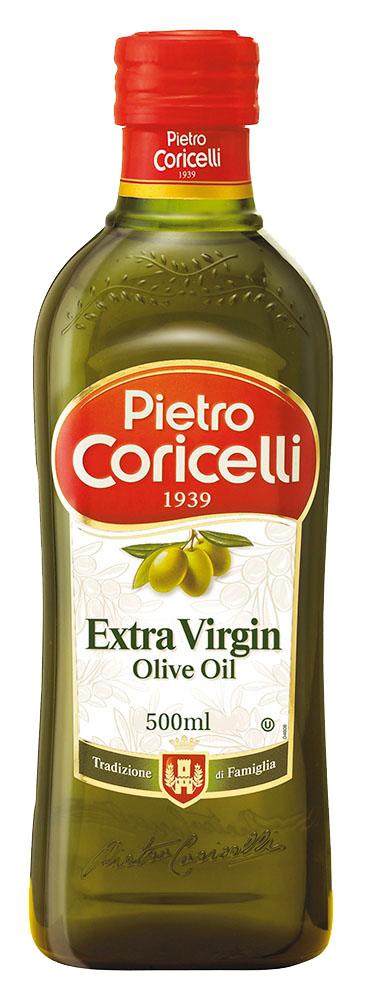 Масло оливковое Pietro Coricelli Extra Virgin 0,5л ст/б