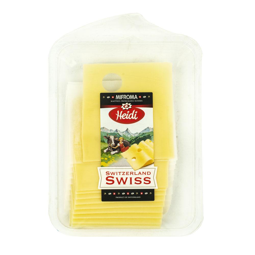 БЗМЖ Сыр Heidi Швейцарский 46% 120г Швейцария