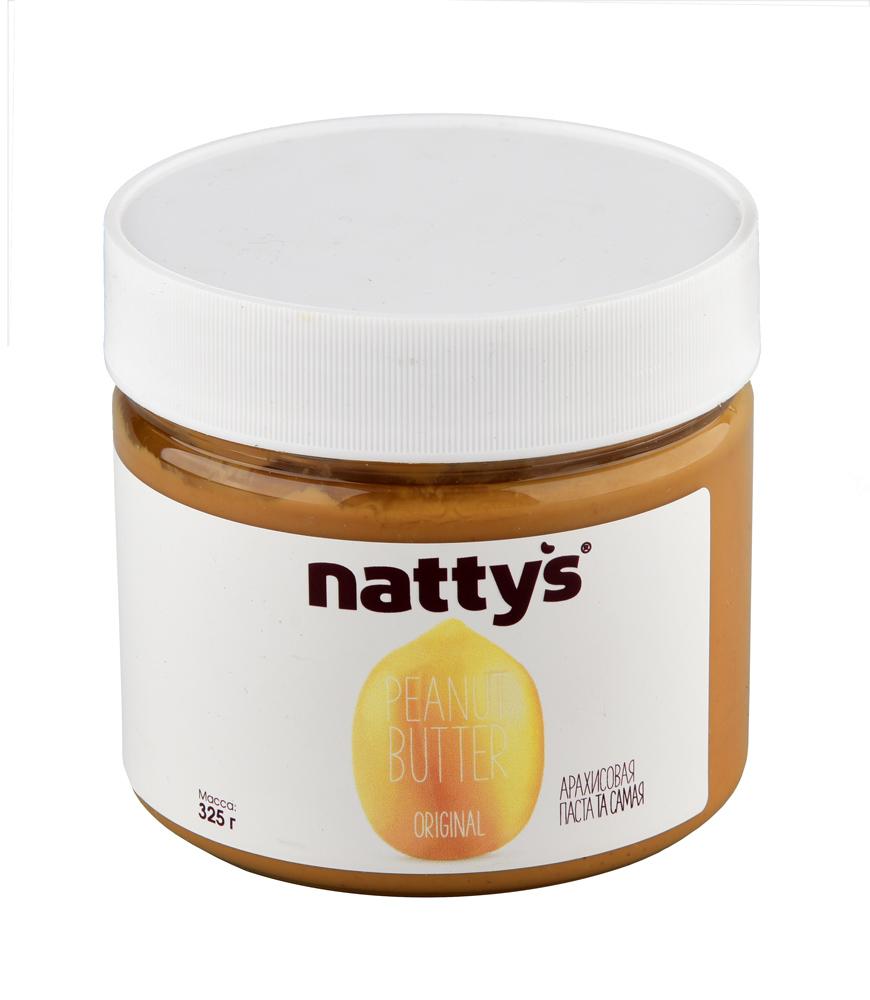 Паста арахисовая Nattys Original 325г