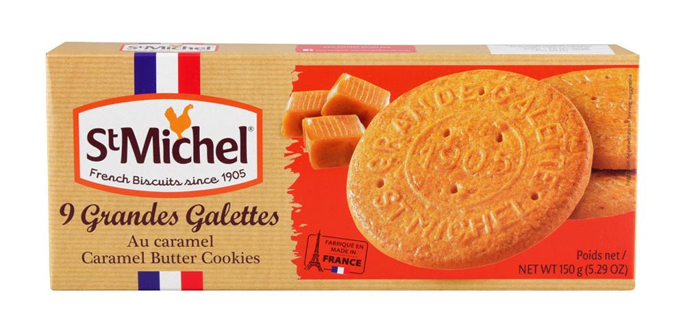 Печенье St.Michel сливочное карамельное 150г