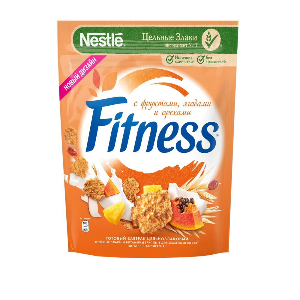 Готовый завтрак Nestle Fitness фрукты 200г