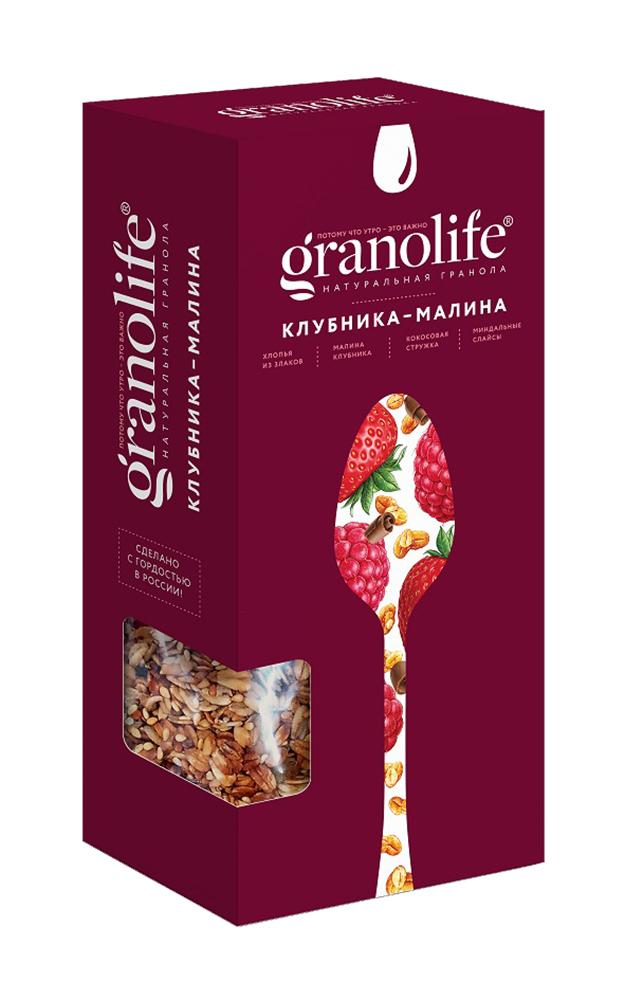 Гранола Granolife клубника/малина 400г
