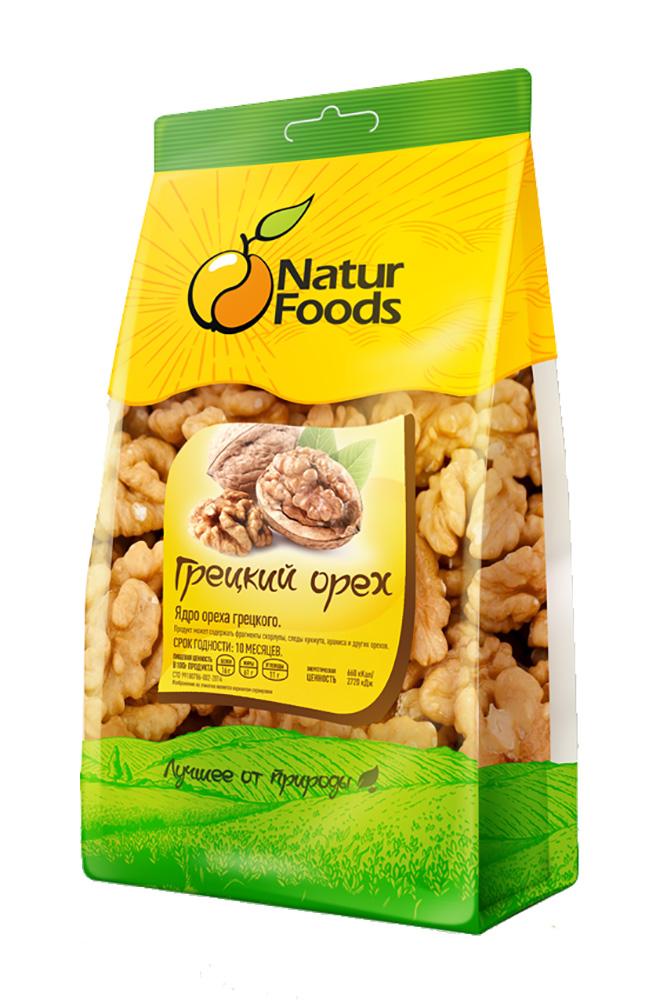 Орех грецкий NaturFoods очищенный 500г
