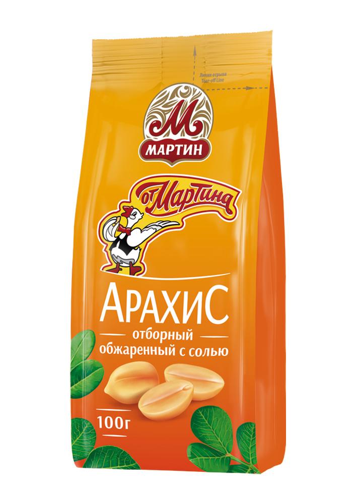 Орехи, сухофрукты Арахис От Мартина отборный 100г
