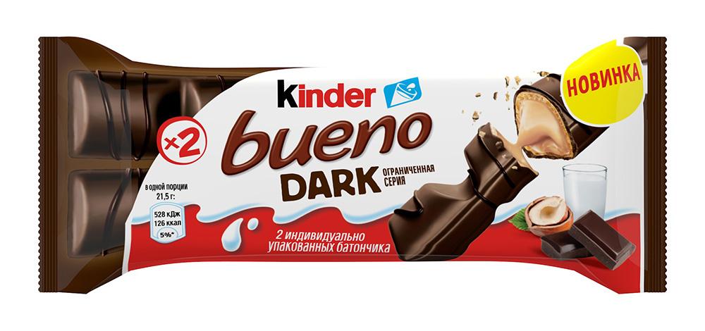 Окей Доставка Вафли Киндер Буэно в темном шокол. 43 г
