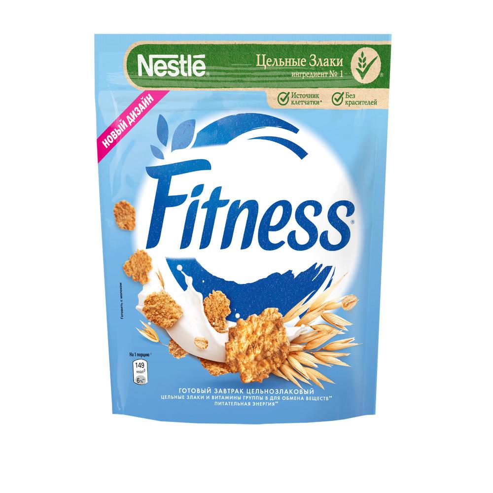 Готовый завтрак Nestle Fitness из цельной пшеницы 230г
