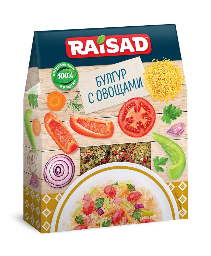 Крупы  Окей Доставка Гарнир Raisad булгур с овощами 200г