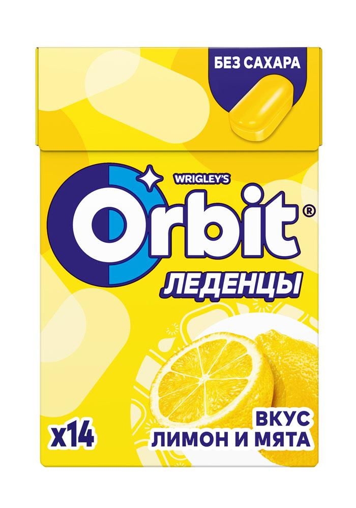 Леденцы Orbit Лимон-Мята 35г